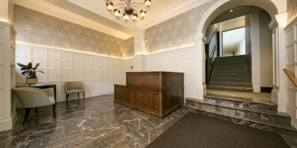 Reception-area-marble