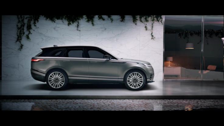 Park Royal Studios Range Rover Velar Advertising