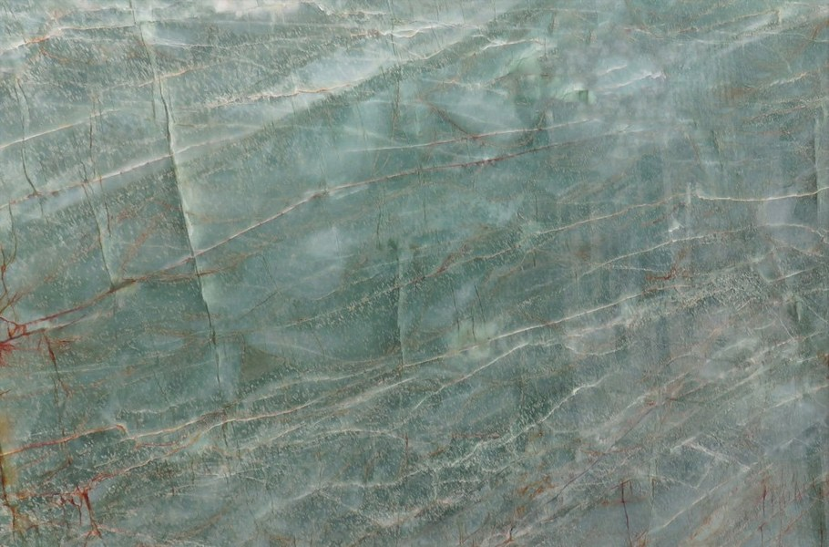 Emerald-green-quartzite