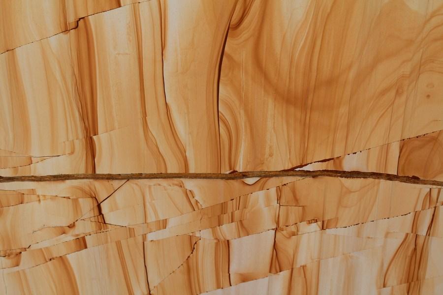 Teakwood-marble