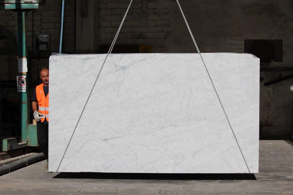 Carrara bianco Marble slab
