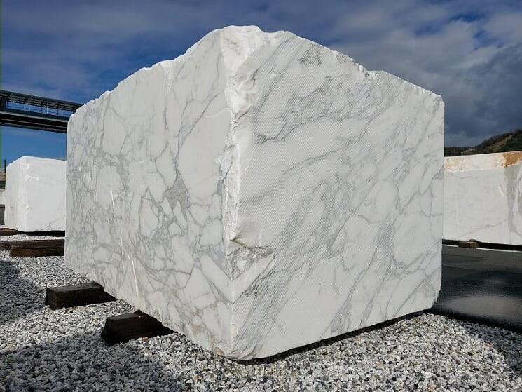 Calacatta marble block