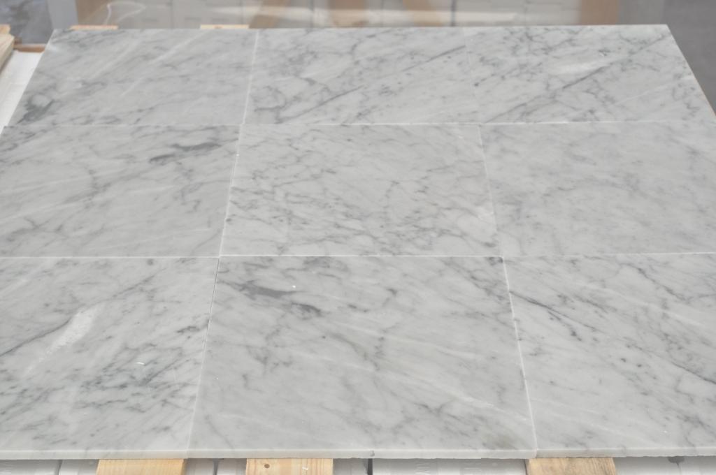 Carrara marble CD grade tiles