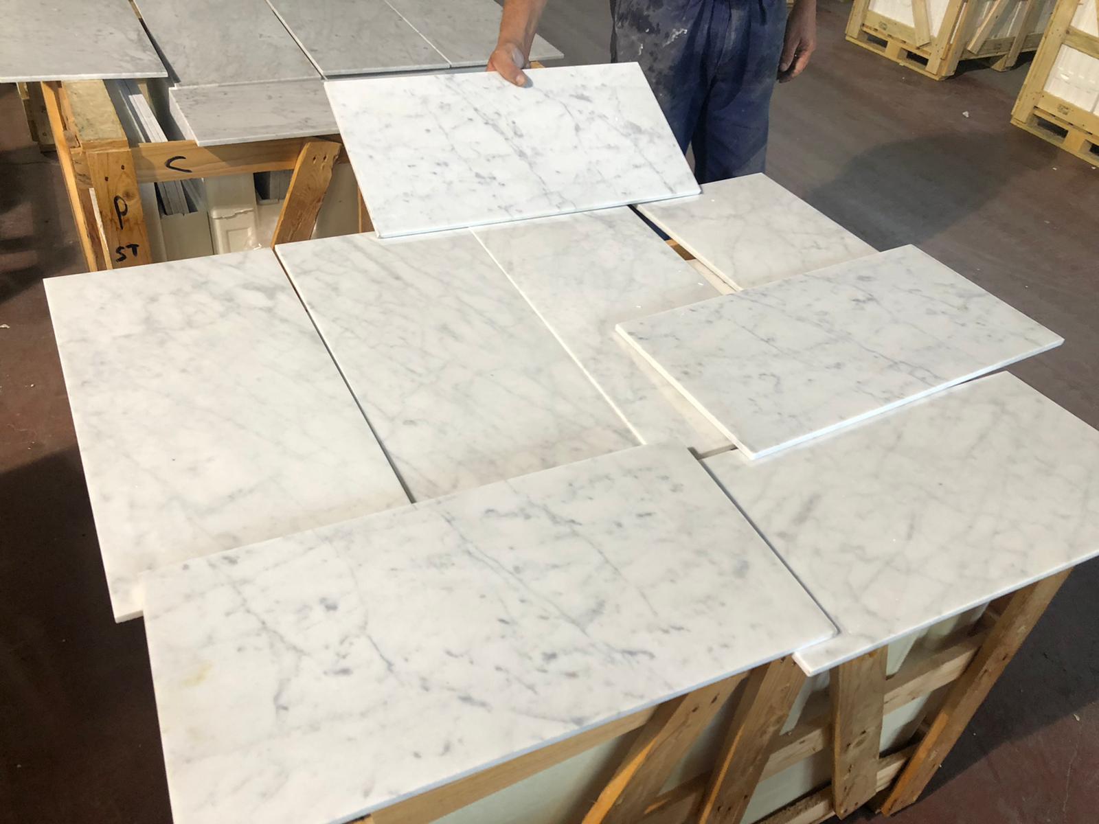 carrara marble tiles C grade