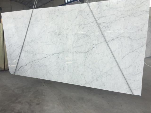 Carrara marble C grade slab