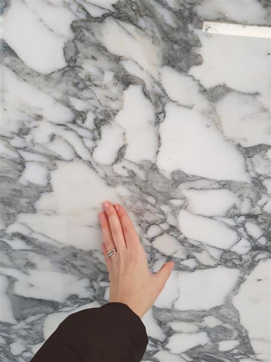 Arabescato Corchia marble close up
