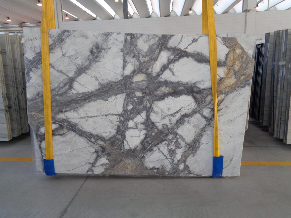 Invisible Grey marble slabs 20mm thick