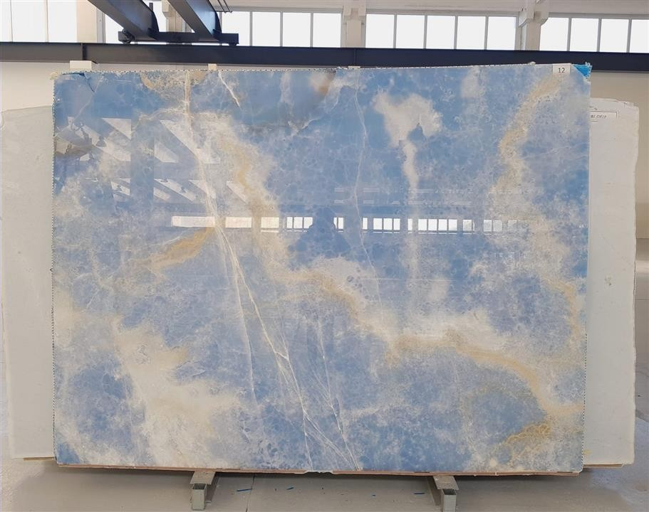 blue onyx marble slabs