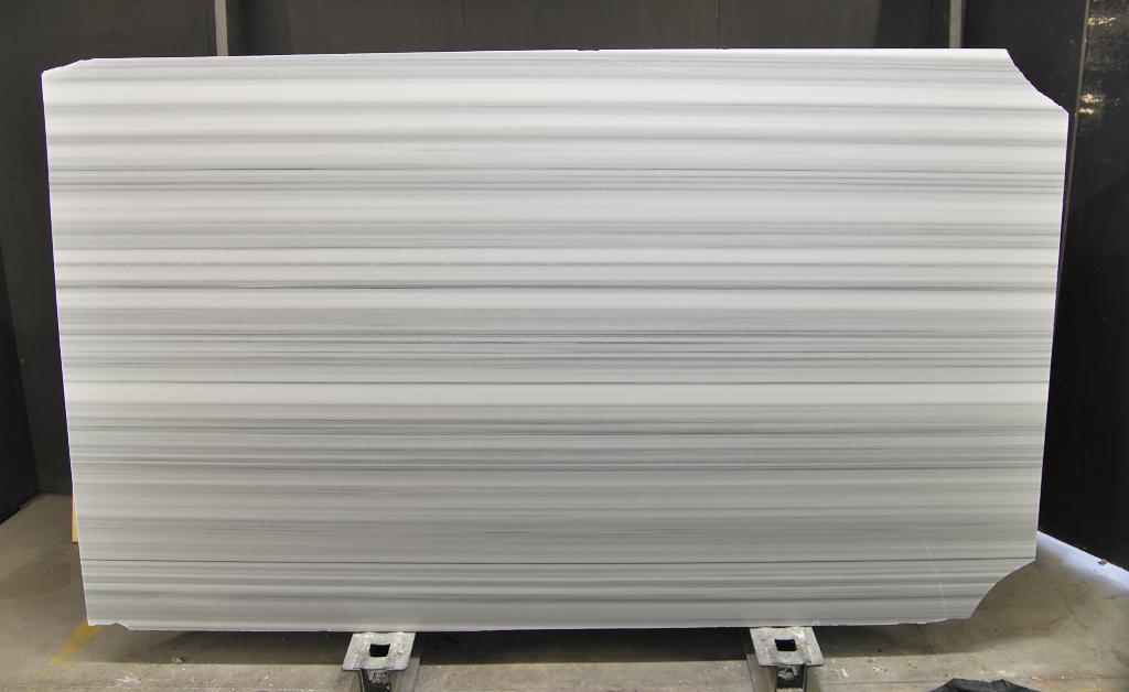striato olimpo white marble slabs