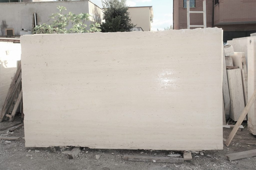 Navona Travertine slabs