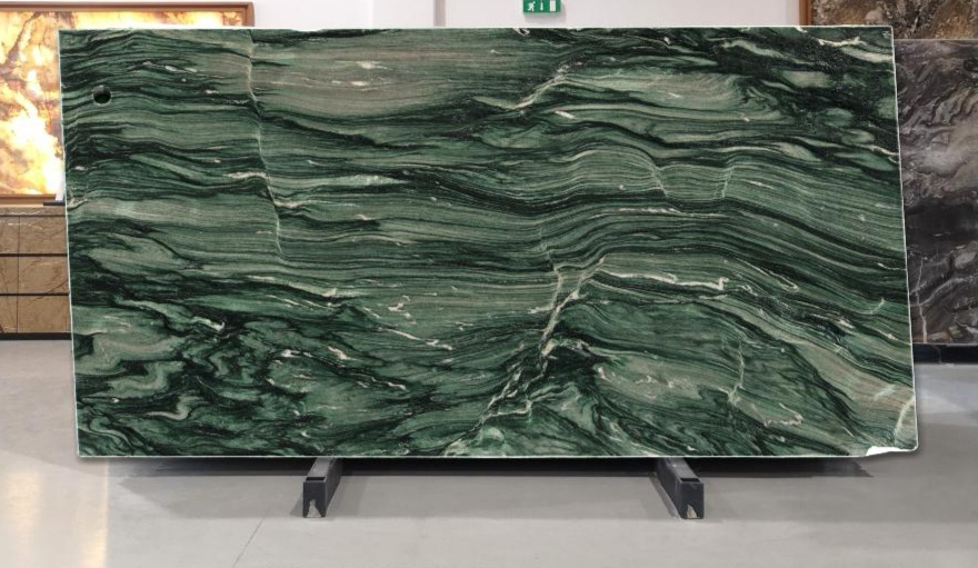verde lapponia marble slabs 20mm thick