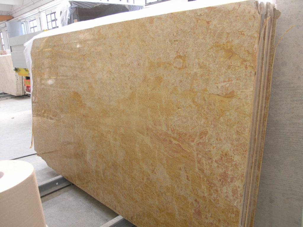 Giallo reale marble slabs