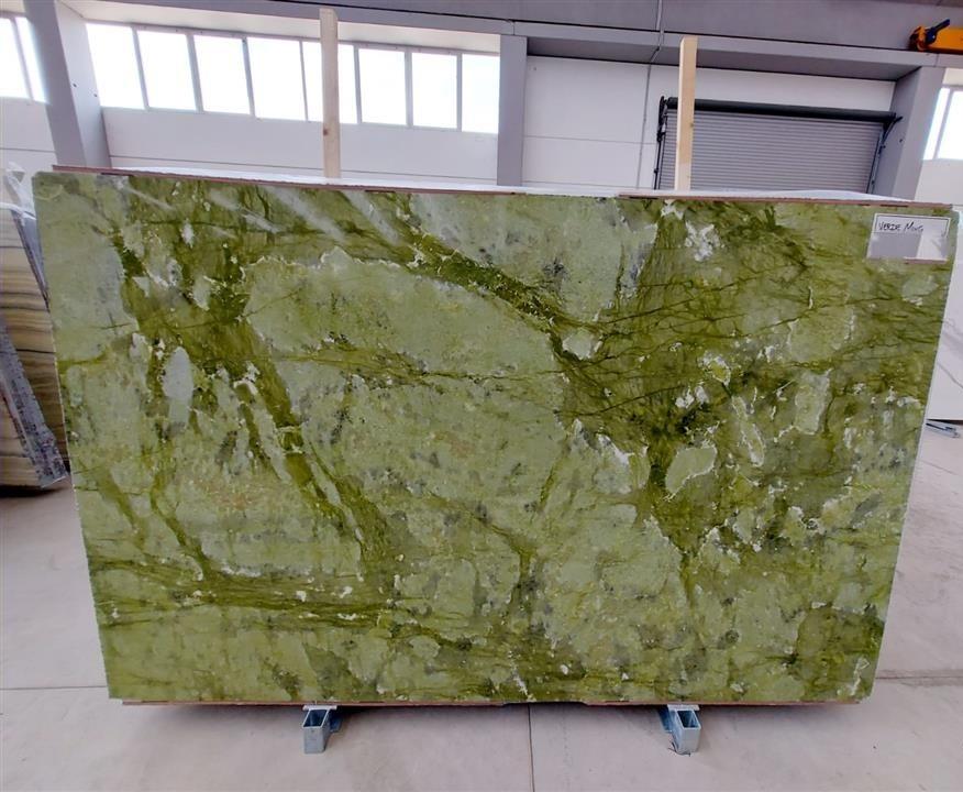 Verde Green MIng marble slabs